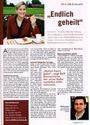 Laktoseintoleranz geheilt - Pressebericht + Foto  Zeitschrift Fliege