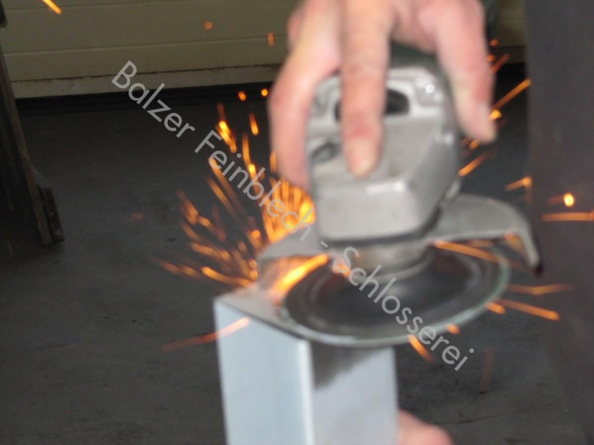 Schleifen Stahl
