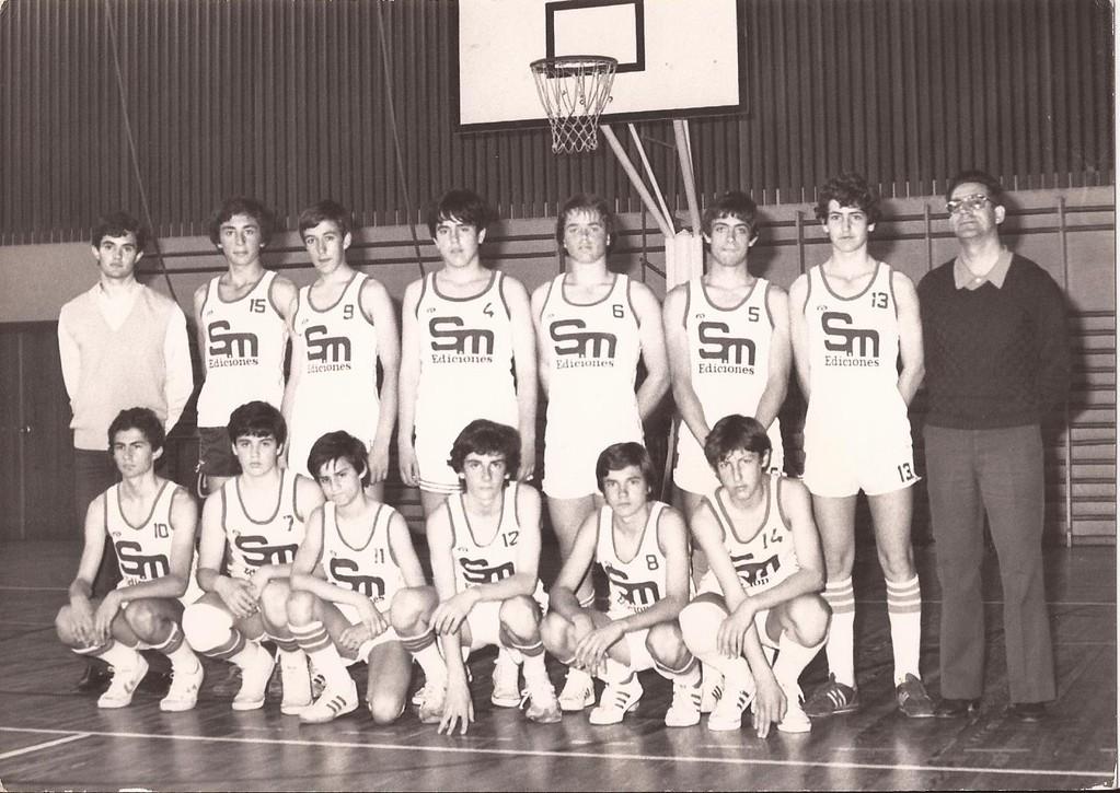 Infantil Masculino, Subcampeón de España 1981
