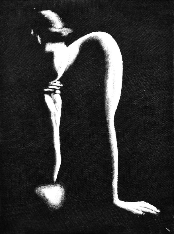 DONNA SEDUTA IN TERRA - ph 03 - cm 60 x80