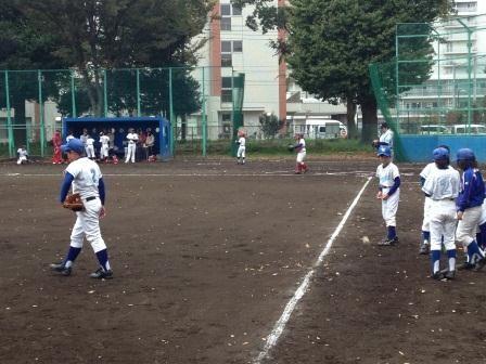 試合の風景
