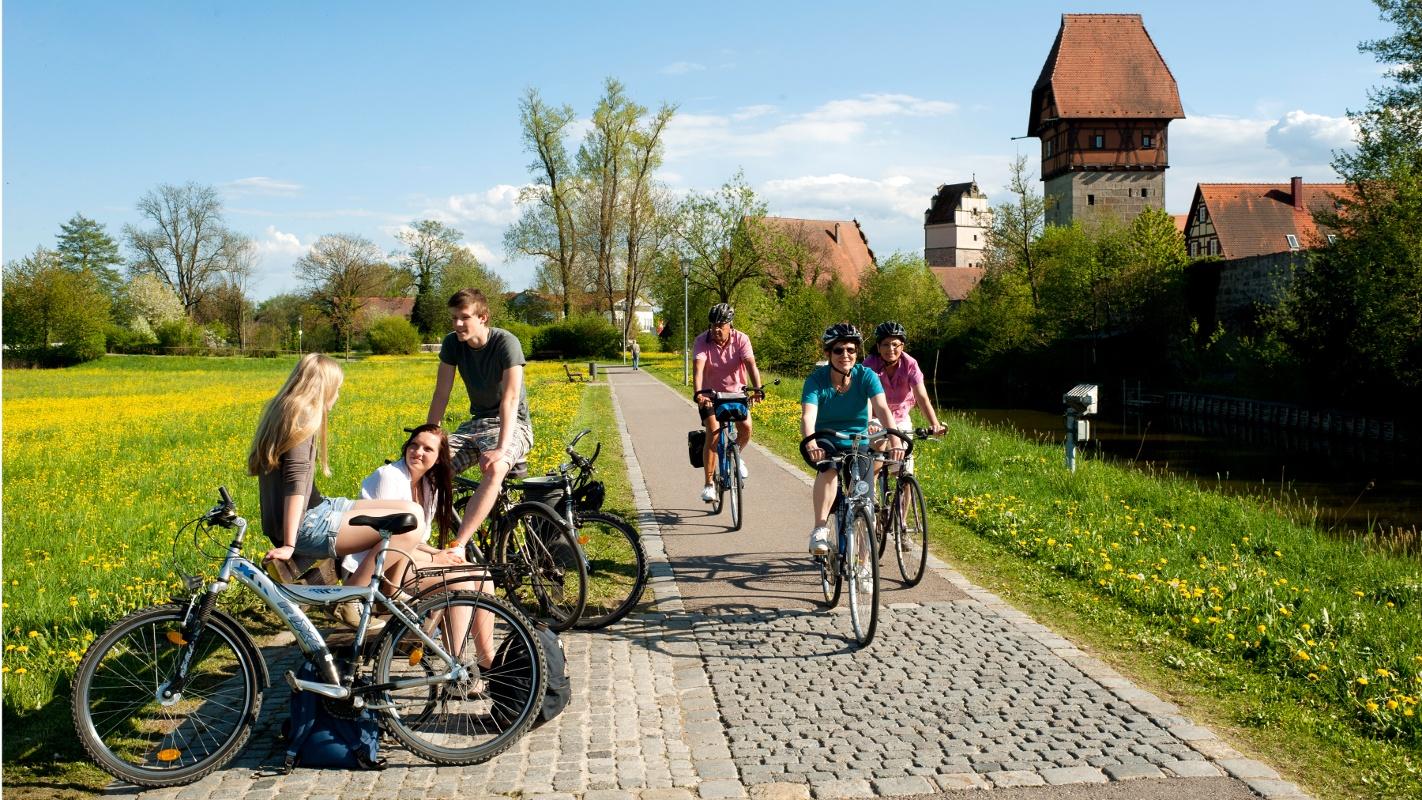 viele Radwege laden zu einer entspannten Tour ein