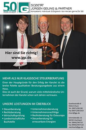 50 jahre jürgen geiling & partner | jgp.de