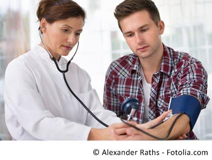 Behandlungsraum Arzt