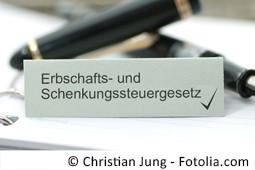 Erbschafts- und Schenkungsteuergesetz | jgp.de