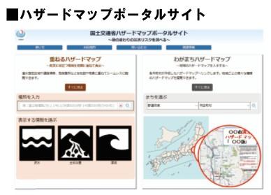 ハザードマップポータルサイト 国土交通省