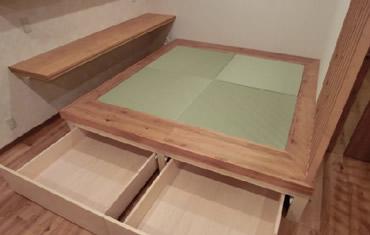 畳下収納スペースで収納力がアップして機能性向上