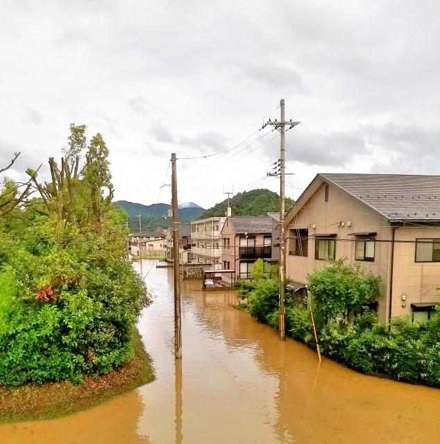 ハザードマップ 洪水被害の事前予測