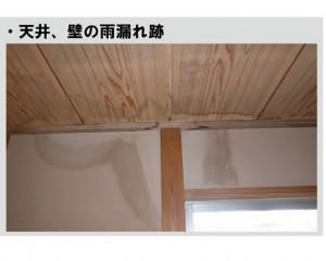 雨漏り原因の特定が困難で是正工事が高額になる