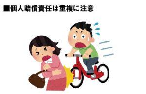 不測の事故 個人賠償責任保険は重複に注意