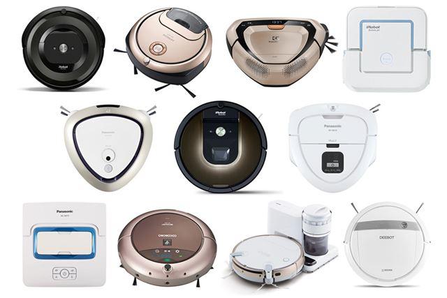 ロボット掃除機の進化 IOT接続でさらに便利に!