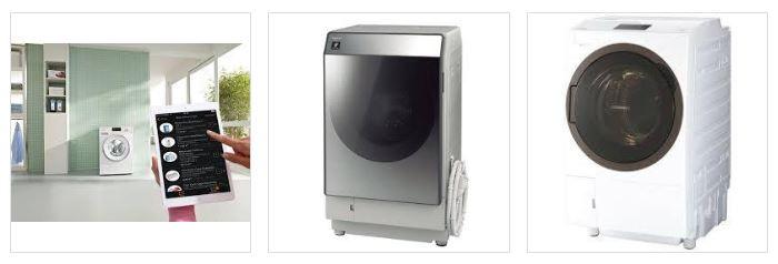 IOTでつながる洗濯機