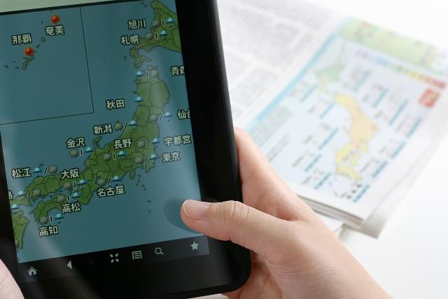 台風などの気象情報 自然災害などへの事前の備えが大切です