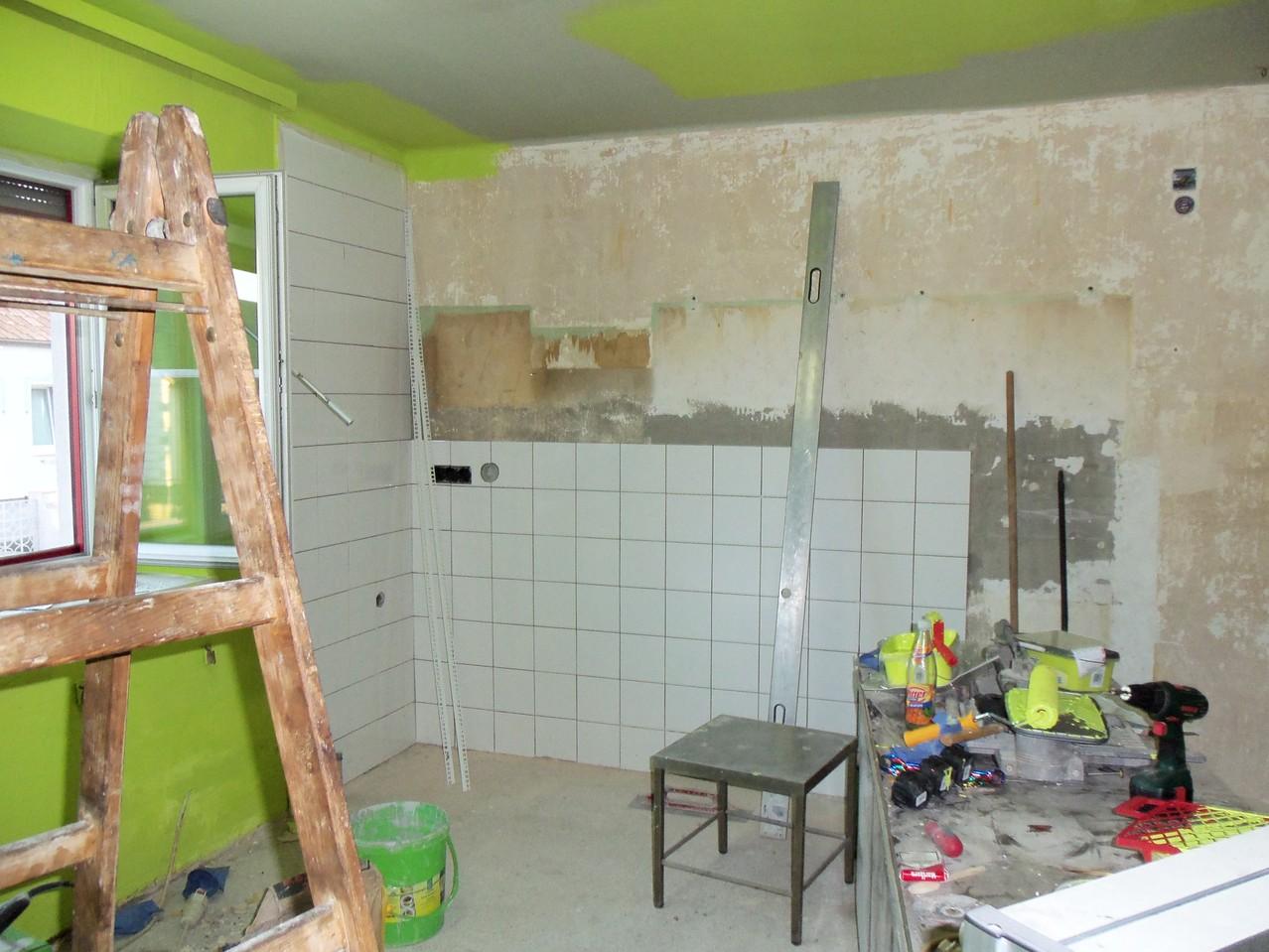 Umbau der Cateringküche