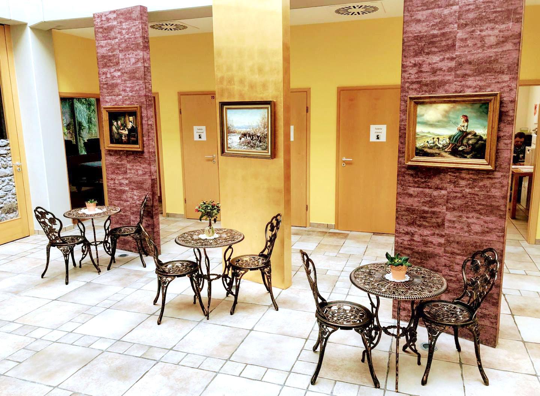 Atrium nach der Renovierung