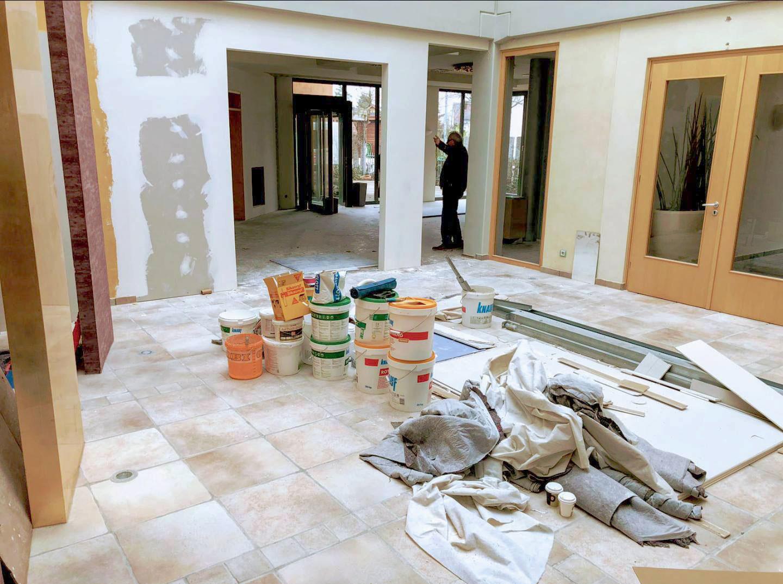 Baustelle Atrium