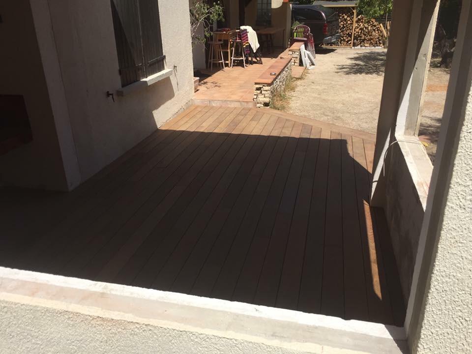 Terrasse bois Ipé.