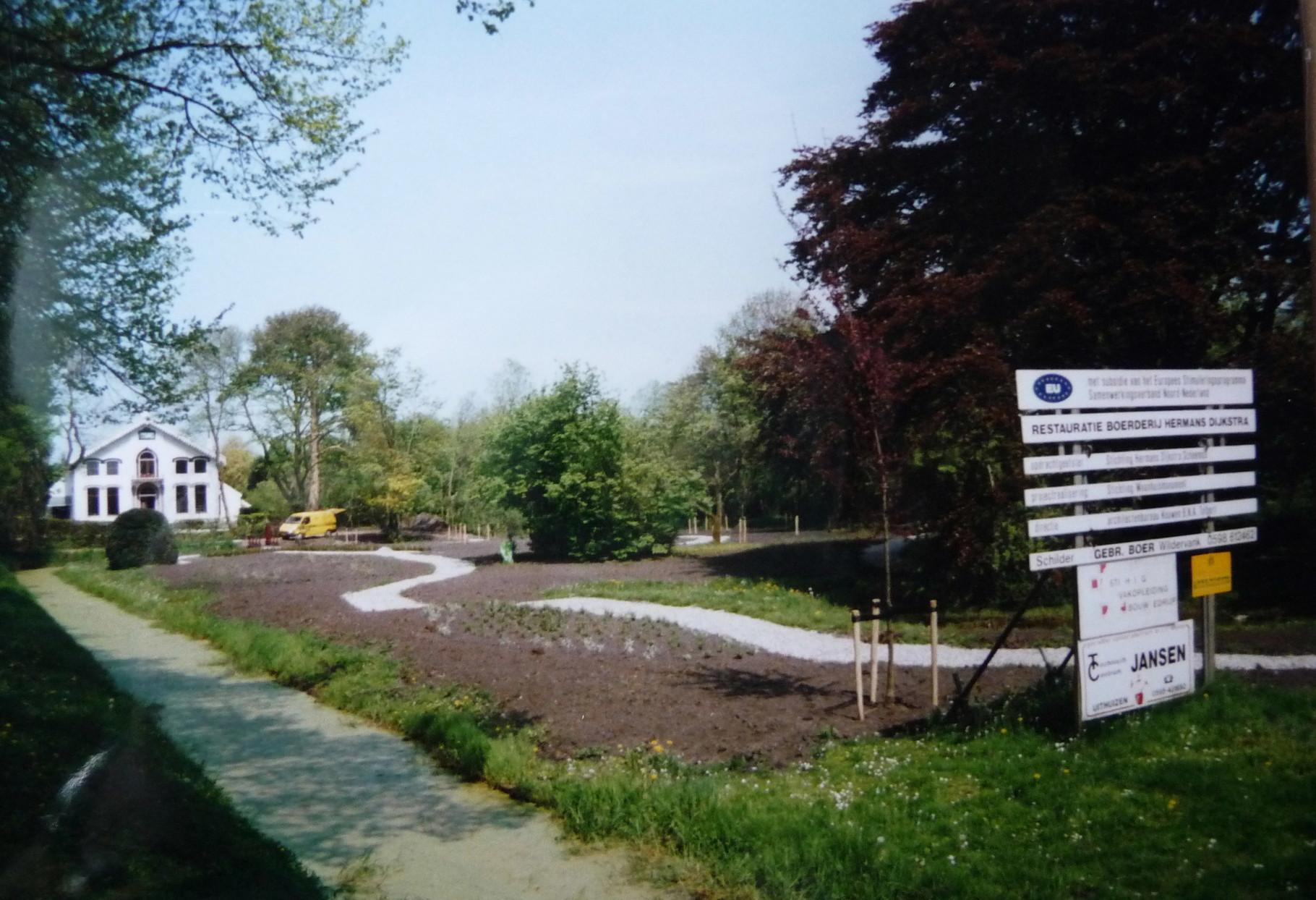 aanleg slingertuin