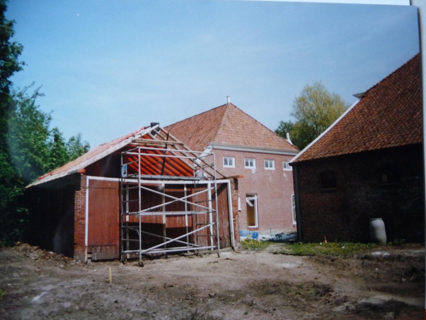 Renovatie koetshuis
