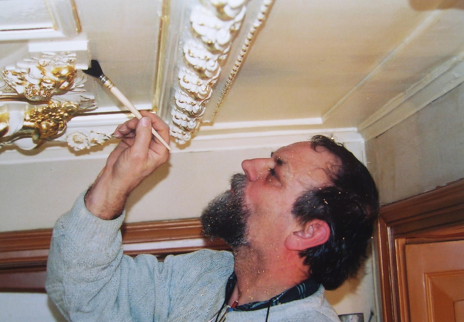 Plafond restaureren