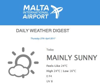 Malta, Wettervorhersage, Wetterfühligkeit, 10 Tipps