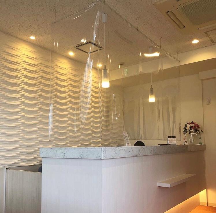 京都市下京区四条烏丸の心療内科、女医のいるメンタルクリニック、ビニールカーテン