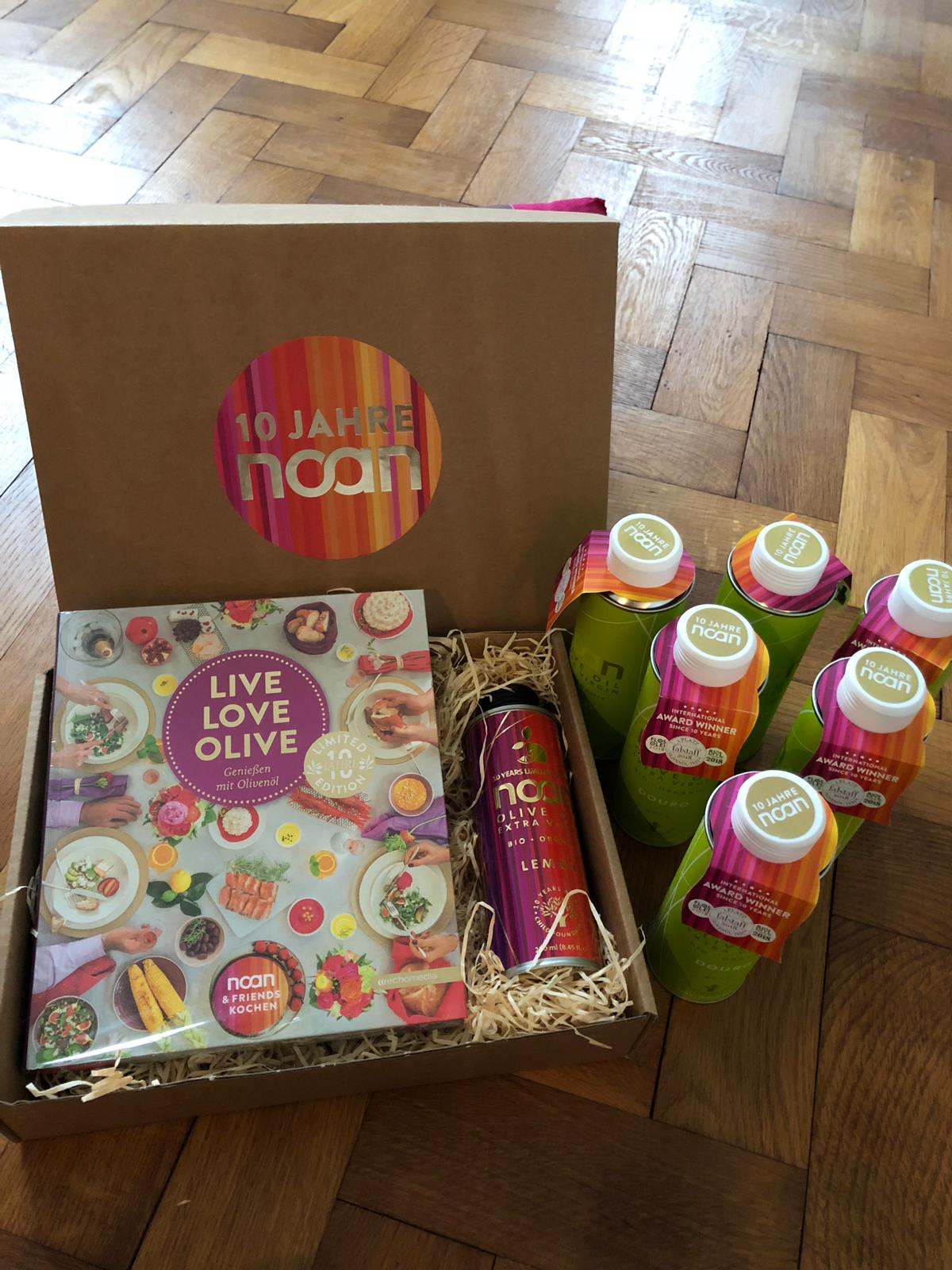 Noan-Geschenkbox im Wert von 120 Euro