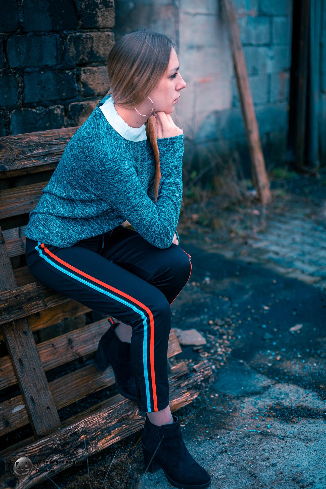 Portrait Lingen Lost Place Vanessa