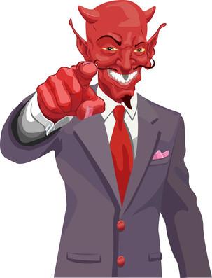 Der Präsentations-Teufel erscheint oft im edlen Gewand.
