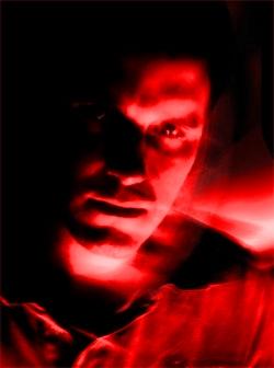 2006: Plakat-Foto für das Event Underground Hypnosis. Foto: CM
