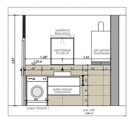 Apartment Harmonic Aparts, Bad Altheide  - Fliesenplan