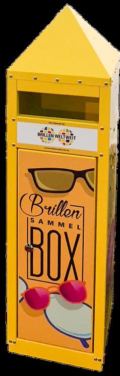 Brillen Sammelbox