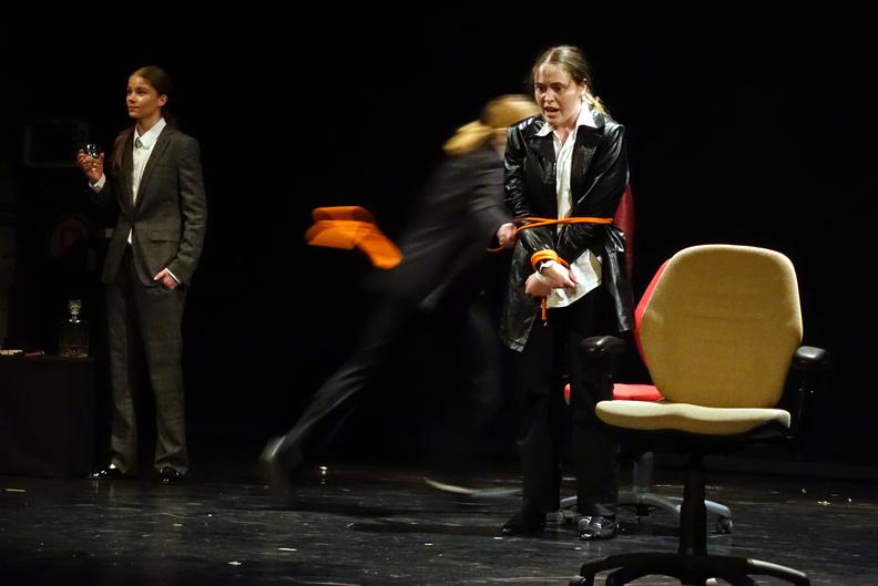 2ème Festival pour Étudiants - Pour rire pour passer le temps - Sylvain Levey - Ecole d'acteurs de Poznan - Pologne (mise en scène Iris Munos