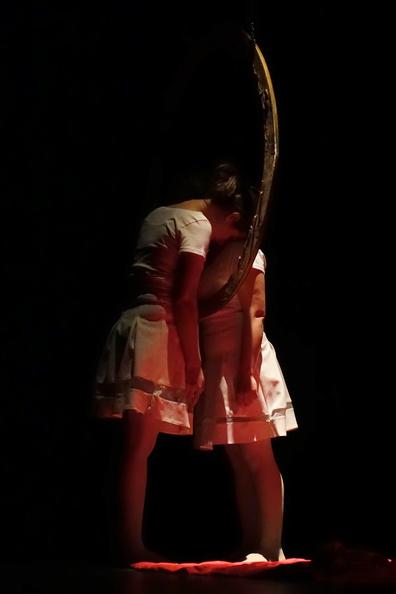 3ème Festival pour Étudiants - La monstre - Emmanuelle Delle Piane - Le soufle est - Albanie