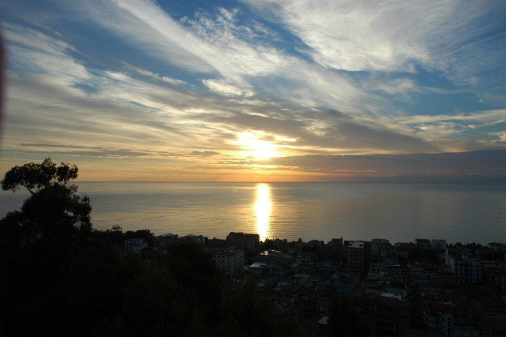 Vue sur la mer Ionienne,