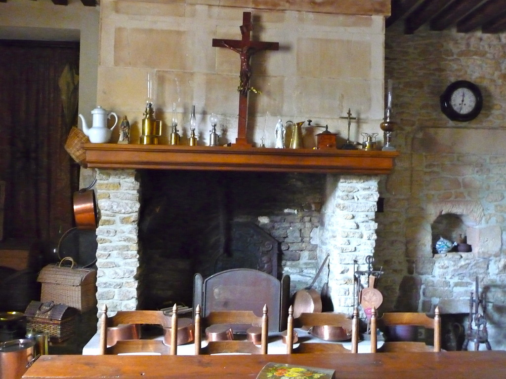 La vieille cuisine d'origine