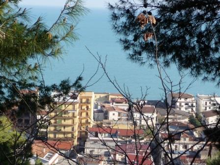 Trebisacce : vue sur la mer Ionienne
