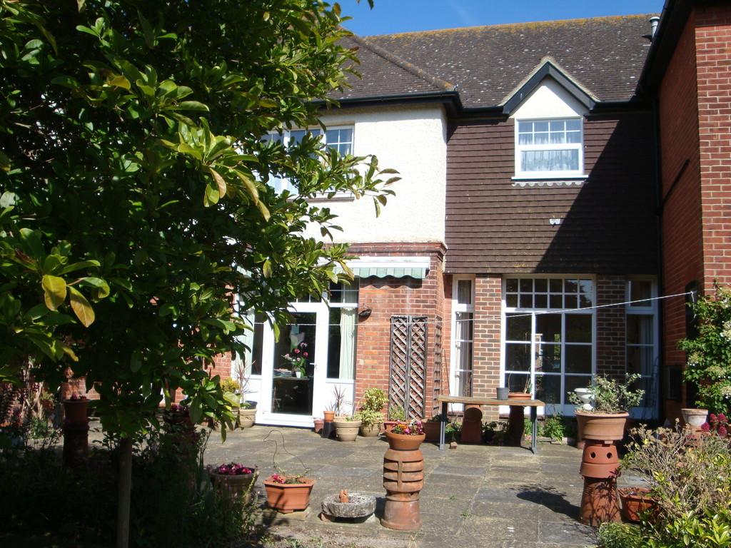 Joli jardin à Folkestone dans le Kent
