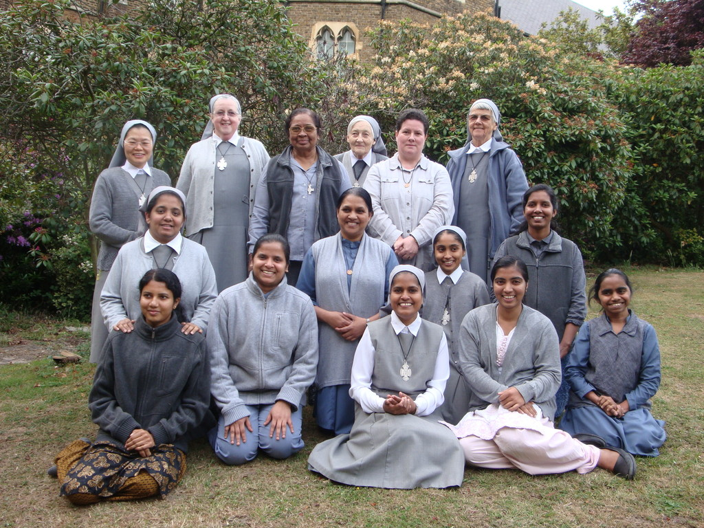 Elles furent novices : la plupart sont maintenant professes NDF