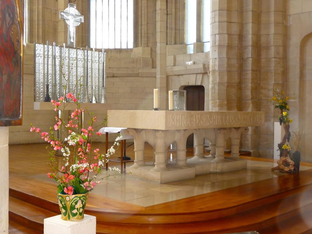 le choeur de la chapelle Lalique