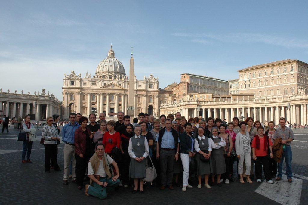 "Rome : rassemblement ""Alliance NDF 2004""."