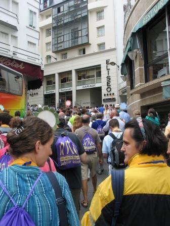 Dans les rues de Lourdes
