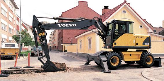 Volvo EW160 Mobilbagger
