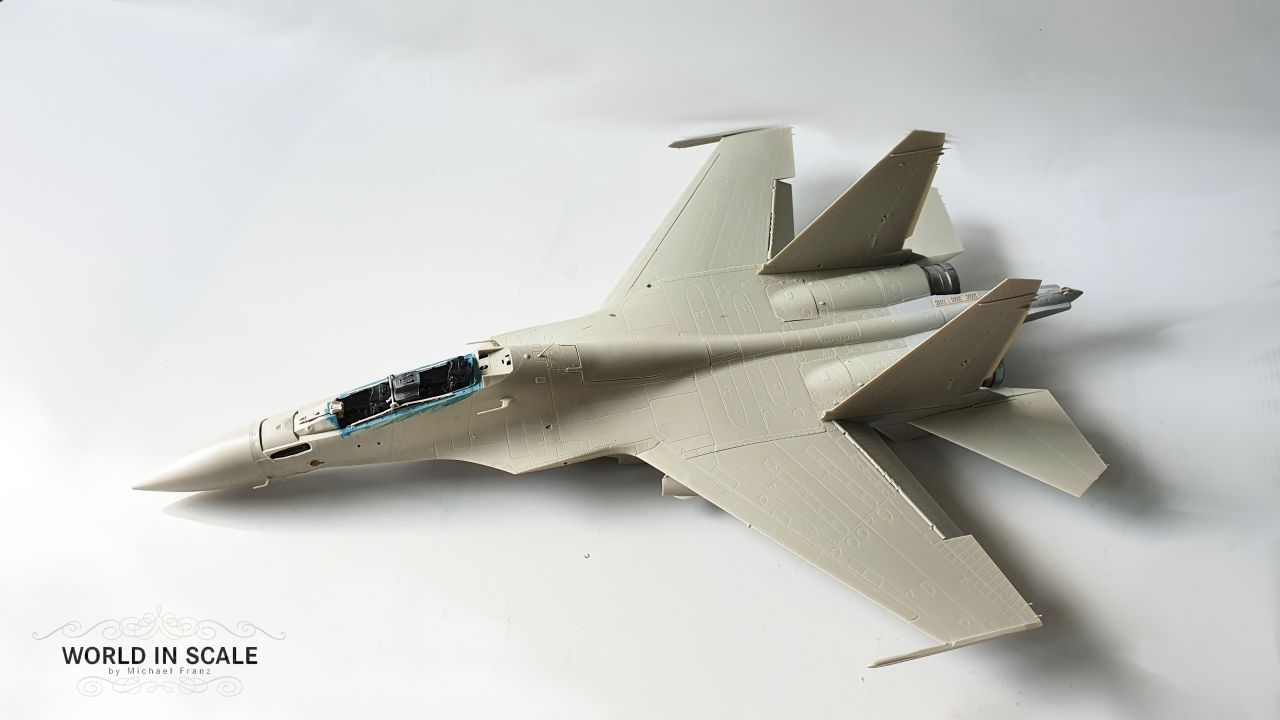 Sukhoi SU-30SM - 1:48 of Kitty Hawk