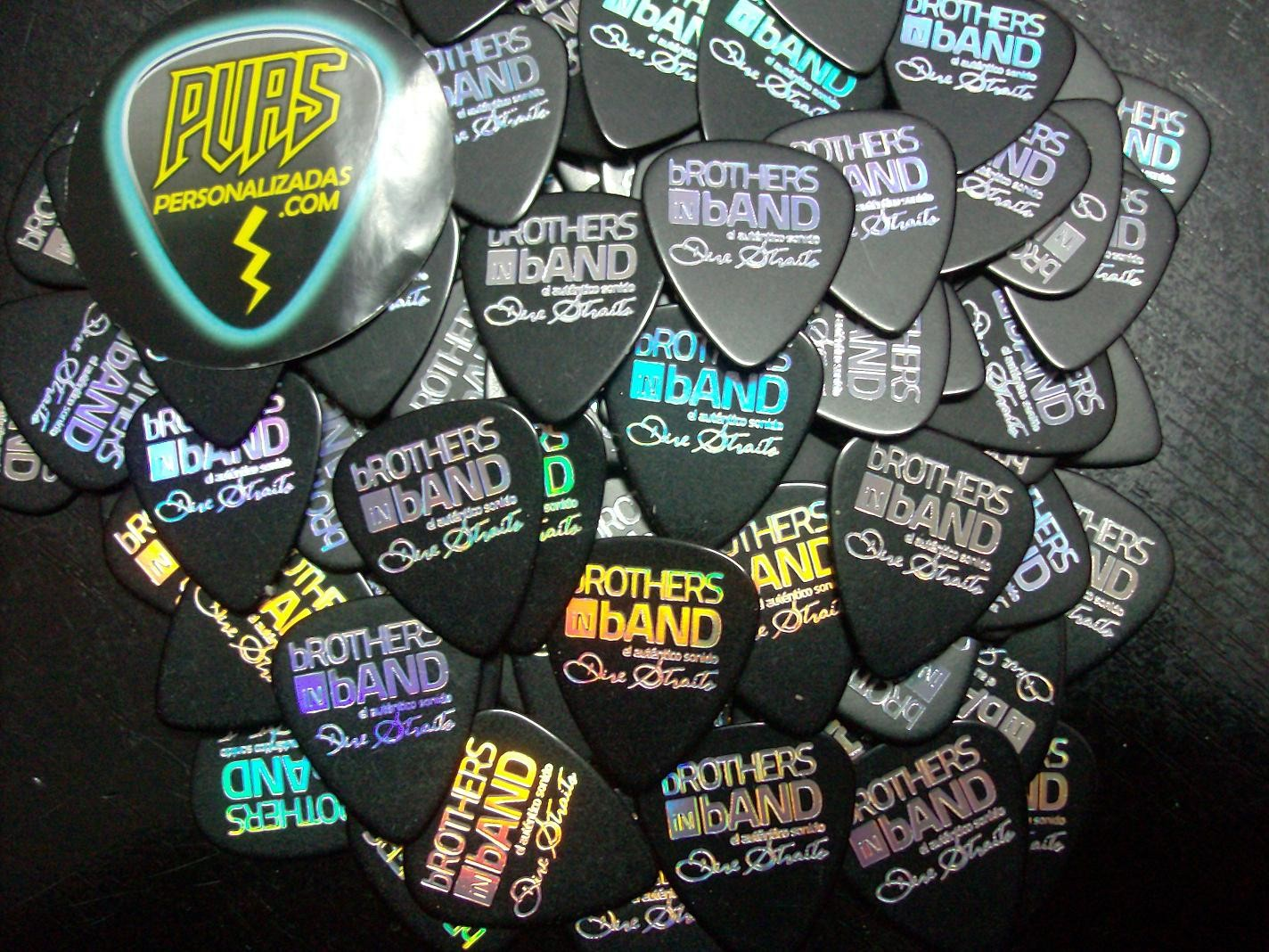 puas brothers in band, guitar picks