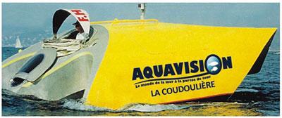 découverte sous marine aquavision six fours