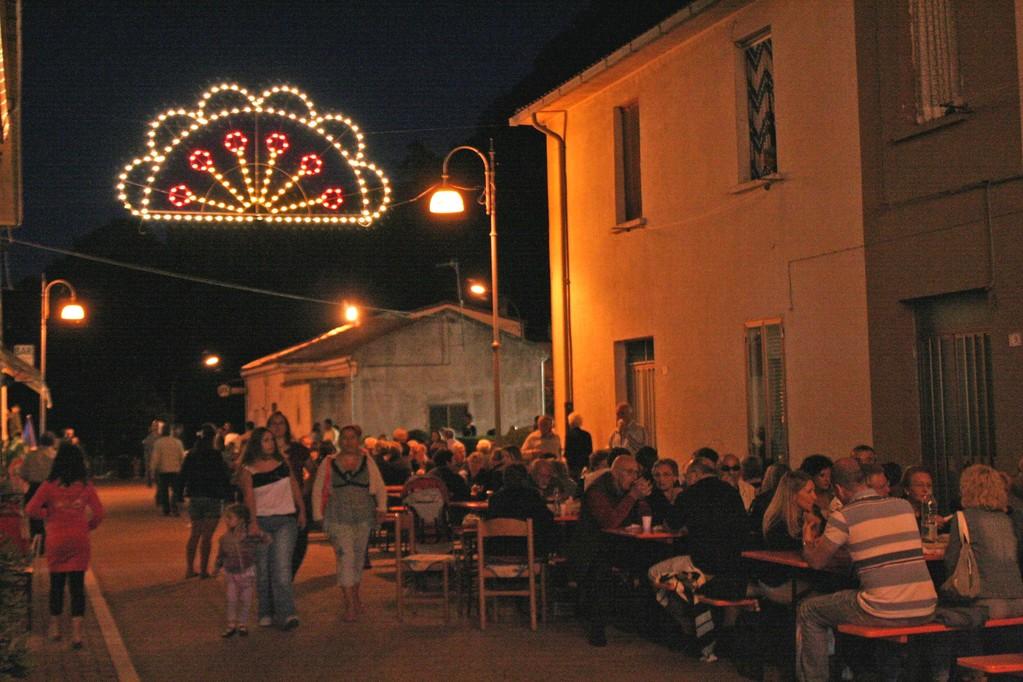 Piatto tradizionale in Piazza (7/8/2010)