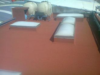 Impermeabilizante prefabricado PASA INSTALADOR SBS PG GRANULAR de 4.00 mm de espesor. Cedis Lala ubicado en Calle Postes No 30, Col. La Pólvora, Delegación Álvaro Obregón, Distrito Federal.