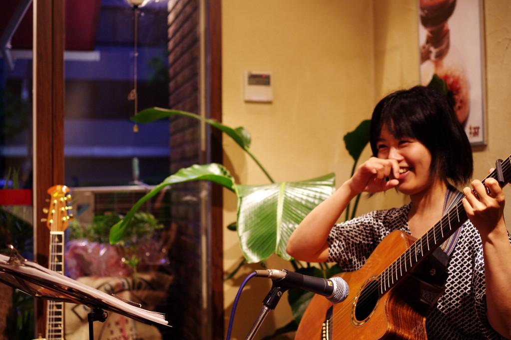 3+サーティーサード珈琲アコースティックLIVE「珈琲とアコギと・・・Vol.1」2012.9.1Sat tuna