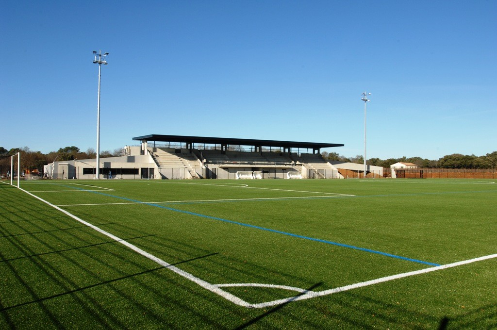 Centre de formation de football : stade de Sussargues